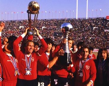 El fútbol Antes/Despues de la Ley Bosman reflejado en Copas