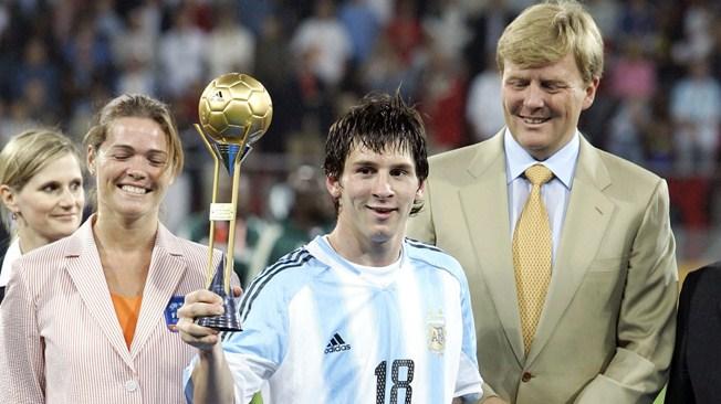Messi foi o melhor do mundial sub-20 em 2005